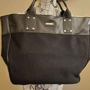 Versace Parfums Oversized Black tote GUC